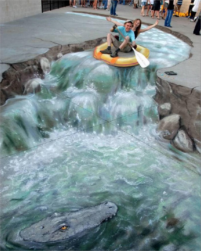awesome-3d-river-steer-art