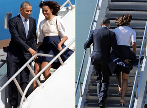 Michael-Obama-up-skirt-moment