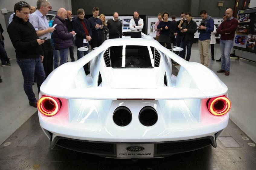 Only  Copies Of The Gt Will Build Ford A Year  The Price Of The  Horsepower Super Sports Car   Euros But Simply Shelling Out Only