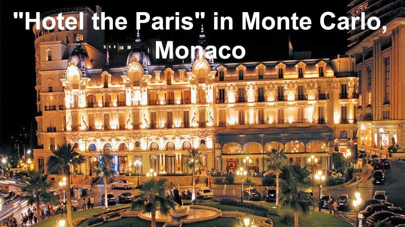 Hotel-the-Paris-in-Monte-Carlo,-Monaco