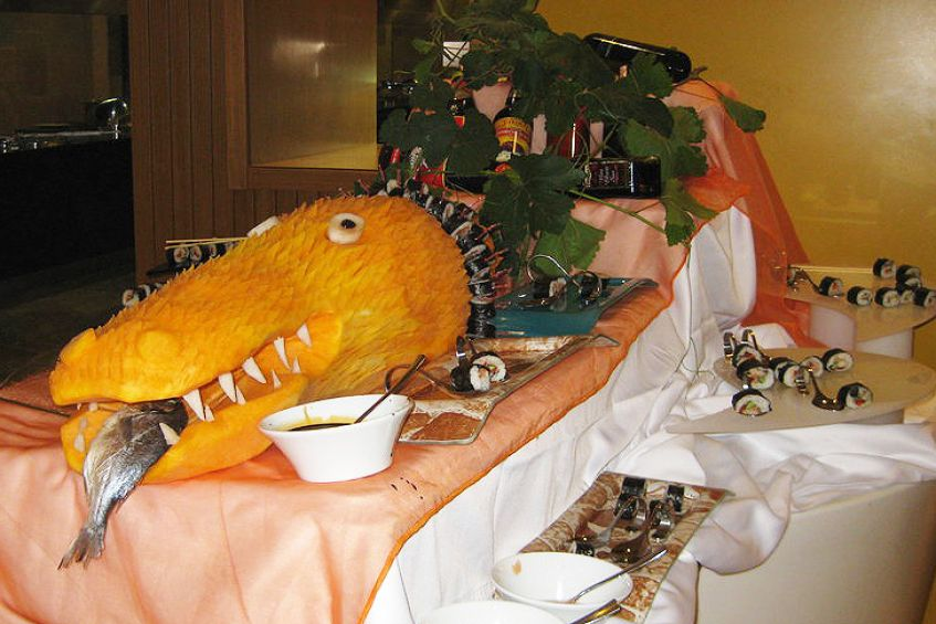 Sushi Crocodile