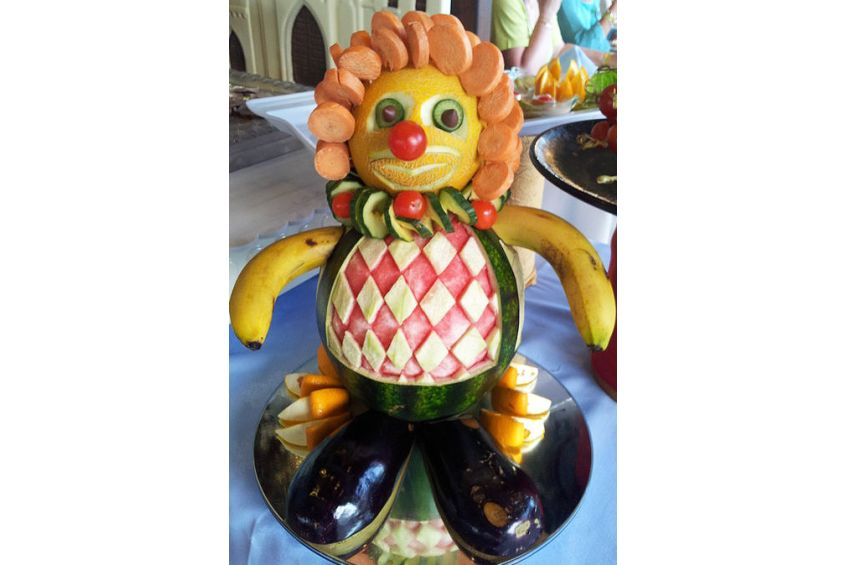 Vegetable Clown