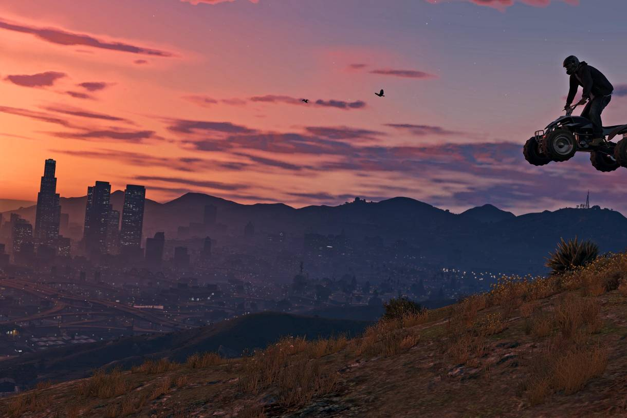 these are the 15 most beautiful gta 5 wallpaper in 4k – humor