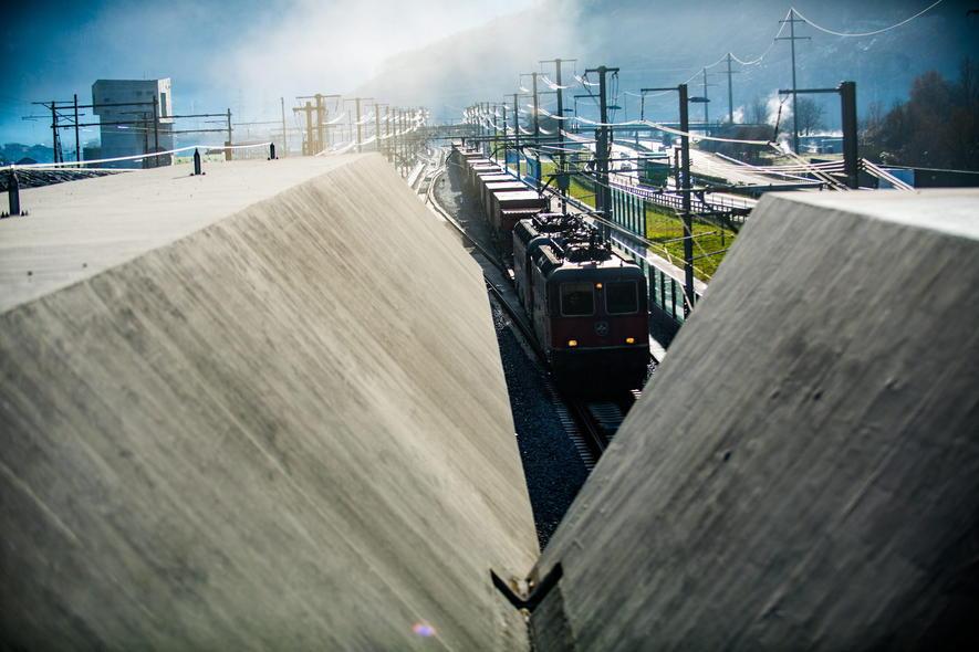 Gotthard rail tunnel