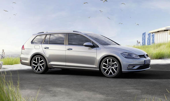 Volkswagen Golf estate 2017