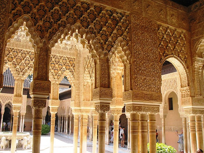 the wonders of the world: The Alhambra