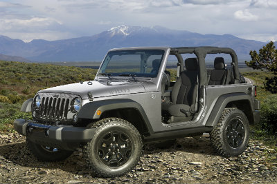 jeep wrangler side