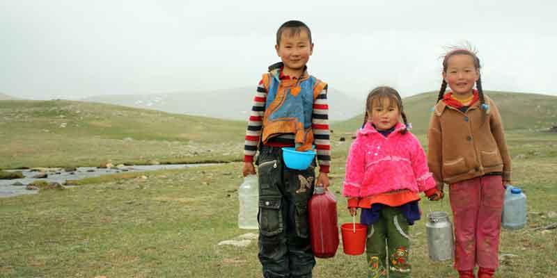 Mongolia age under 18