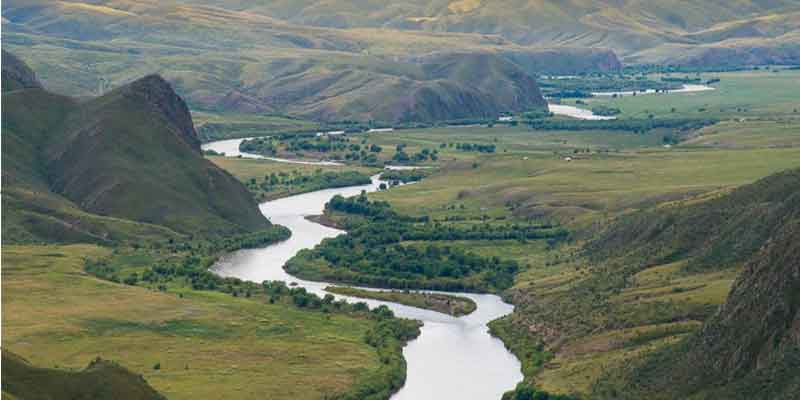 Orkhon River is the longest river in Mongolia