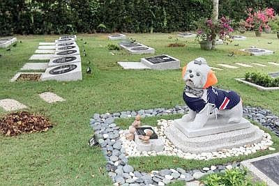 cemetery for pets are the first in Malaysia