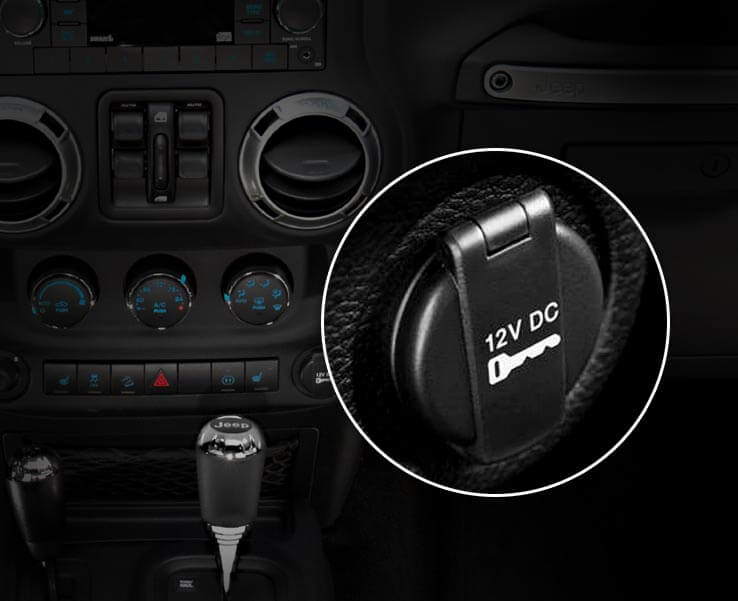 jeep wrangler power outlets