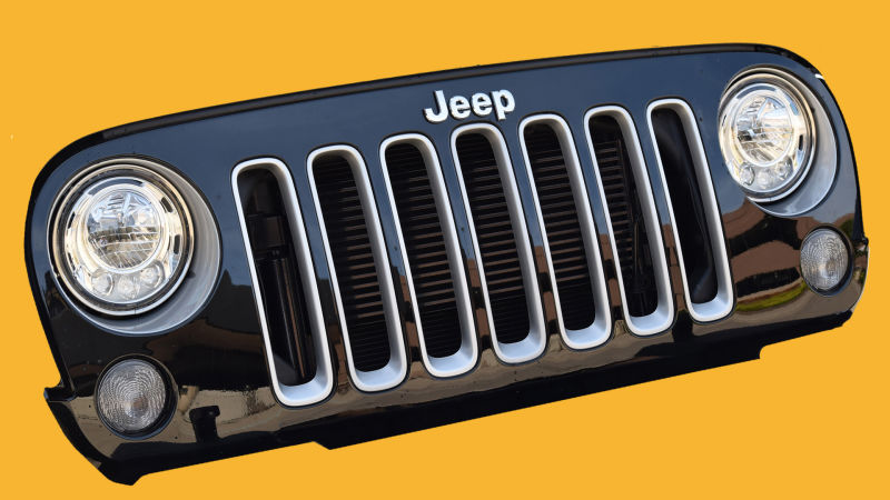 wrangler jeep headlamps
