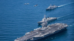 US Navy moves second aircraft carrier near North Korea