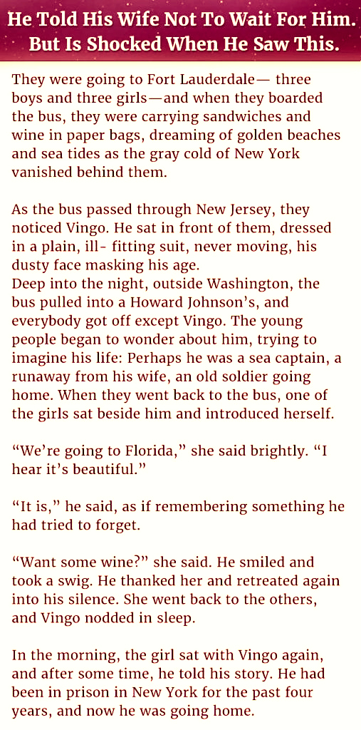 A Husband And His Wife On The Way Of Travelling Told Her Wife Something Unexpected