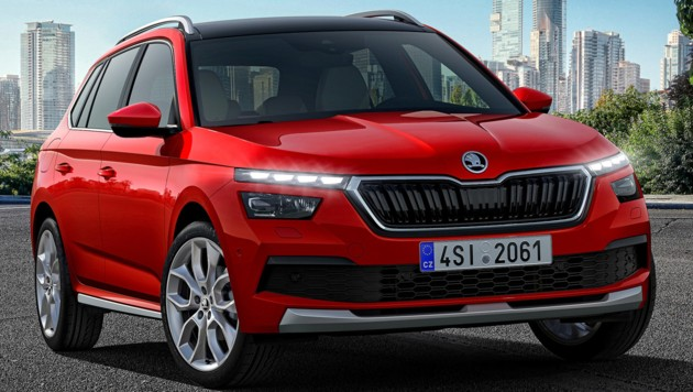 Skoda Kamiq: Small SUV big and smart