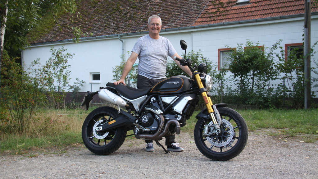 Haste Tones: The Ducati Scrambler 1100 Sport is a bike from the middle of life