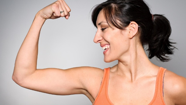 Good bye, hello muscles: exercises for tight arms