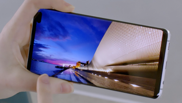 That costs Samsung's Galaxy S10 + in production