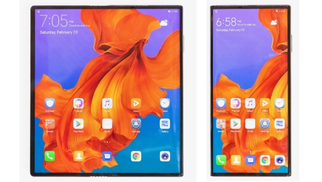 Is this the future? -Folding smartphone Huawei Mate X in the first short test