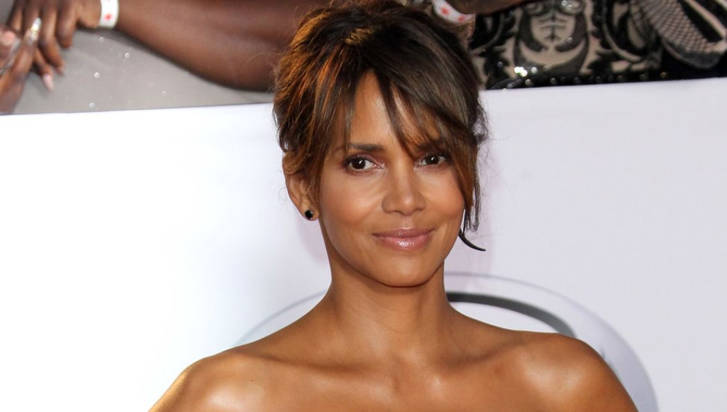 Halle Berry Surprised with a new tattoo