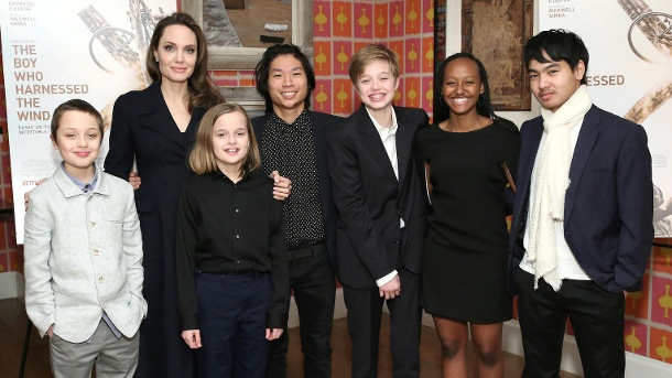 That's how big Angelina Jolie's kids have become