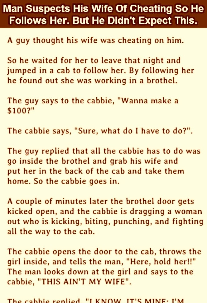 This Husband Follows His Wife In The Middle Of the Night But Found Something Unexpected.
