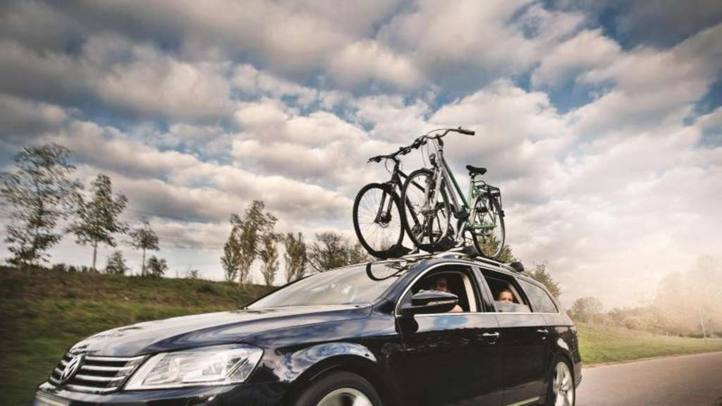 Bicycle transport by car