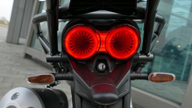 Moto Guzzi V85 TT: Great! Nevertheless, she is annoying ...