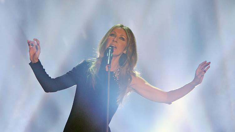Celine Dion launches worldwide concert tour