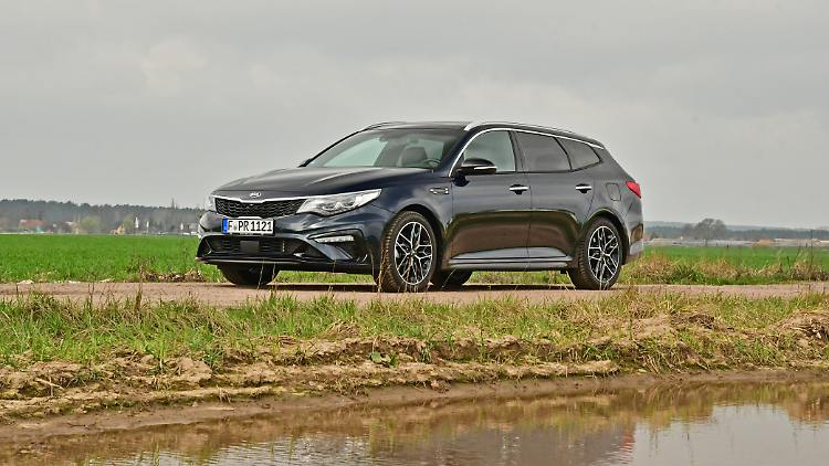 Kia Optima SW - Nurmi with four wheels