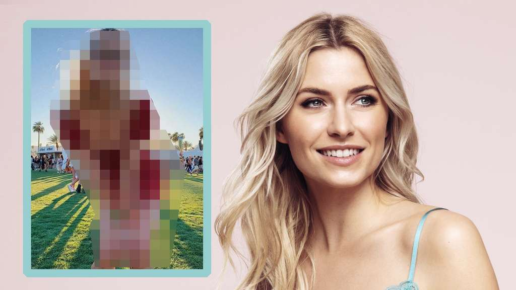 Lena Gercke Model leaves her breasts in the photo on Instagram