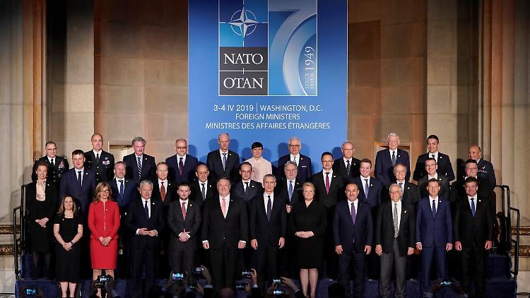 NATO is celebrating its 70th birthday