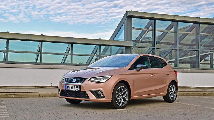 Seat Ibiza - in the practice test against the Machos