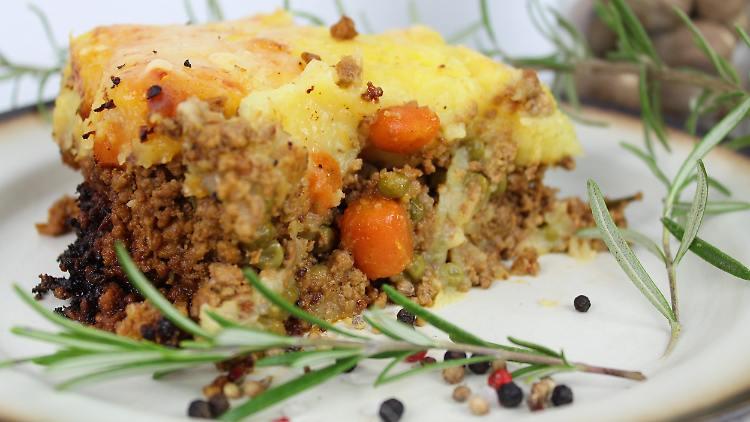 Shepherd's Pie - a warming winter meal